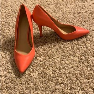 Also coral pumps! NWOT